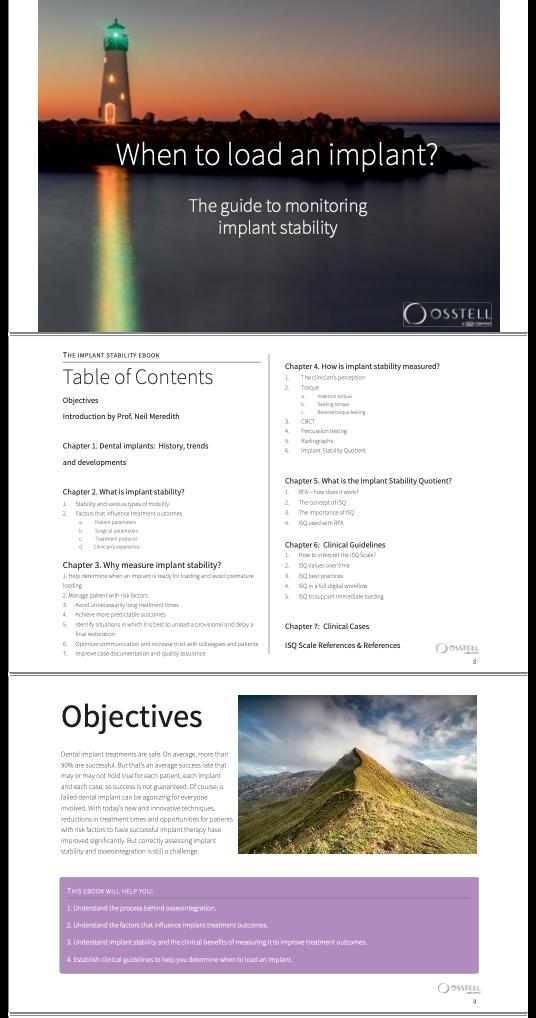 osstell E-book
